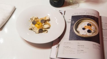 Dinner Tasting Menu for Two & Gregory Marchand's New Cookbook
